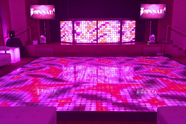 LED Pixel Booth