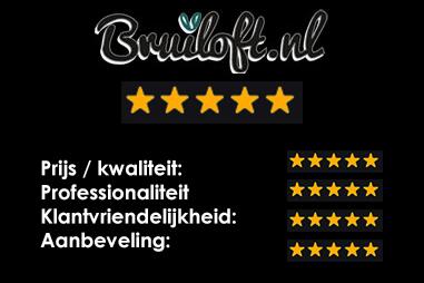 Bruiloft.nl: 5 sterren
