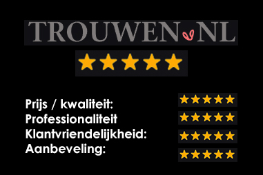Trouwen.nl: 5 sterren